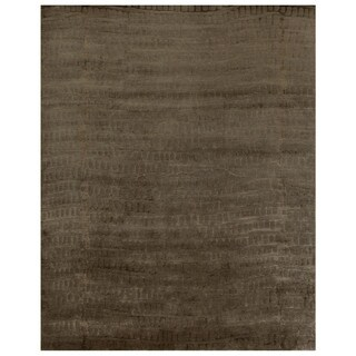 "Grand Bazaar Hand-knotted Wool & Art Silk Radiance Rug in Slate 8'-6"" x 11'-6"""