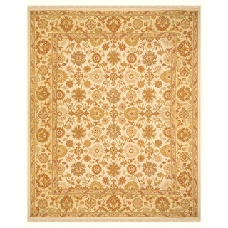 Feizy Silvia Ivory Light Gold Rug (8'6 x 11'6)