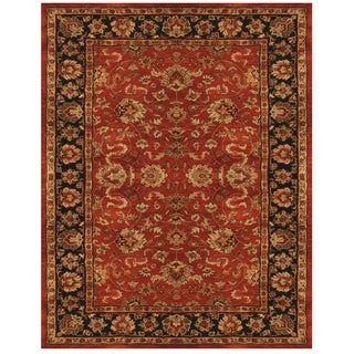 Abbey Red Navy Rug (9'3 x 13')