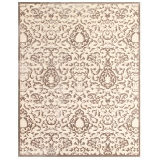 Feizy Power Loomed Viscose Soho Rug In Ivory Silver 7 6