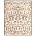 Feizy Penelope Transitional Cream Grey Rug (7'6 x 10'6)
