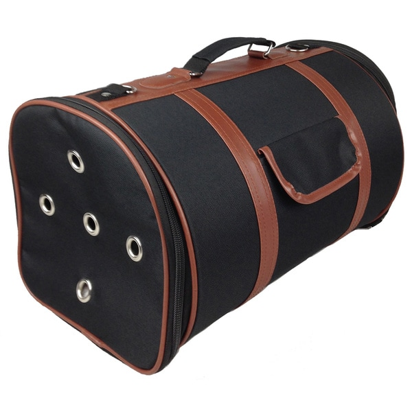 Pet Life Airline Approved Posh Cylinder Pet Carrier