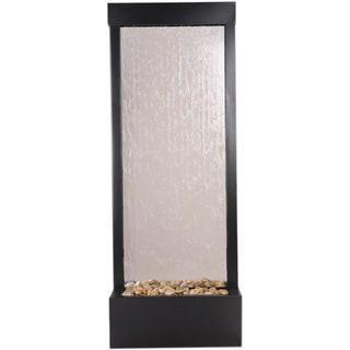 4' Black Onyx Gardenfall with Clear Glass