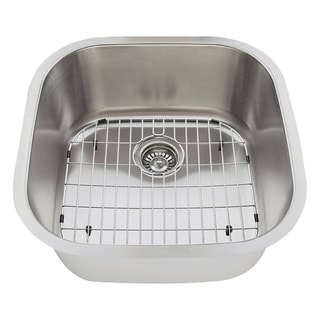 The Polaris Sinks P0202 16-gauge Kitchen Ensemble
