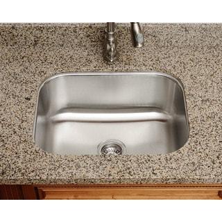 The Polaris Sinks P8132 18-gauge Kitchen Ensemble