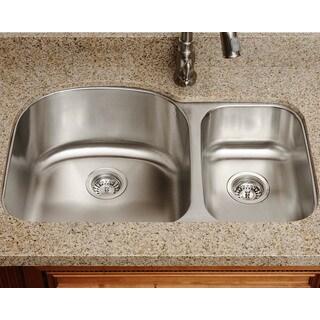 The Polaris Sinks P1213L 16-gauge Kitchen Ensemble