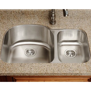 The Polaris Sinks PL1213 18-gauge Kitchen Ensemble