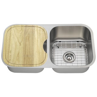 The Polaris Sinks PA205 16-gauge Kitchen Ensemble