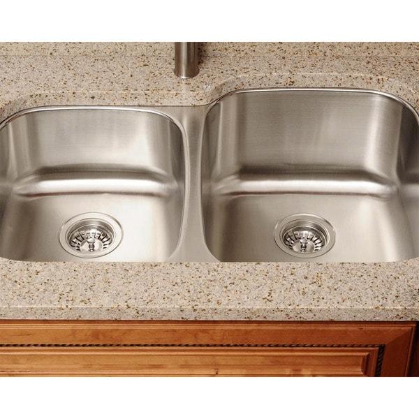 The Polaris Sinks PR305 16-gauge Kitchen Ensemble