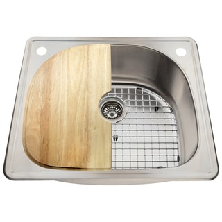 The Polaris Sinks P1242T 18-gauge Kitchen Ensemble