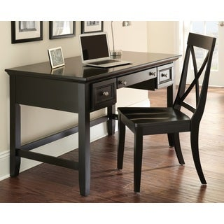 Olsen Black Writing Desk Set