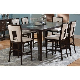 Domino Counter-height Espresso Dining Set