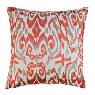 Sherry Kline Shiela Coral 24-inch Decorative Throw Pillow