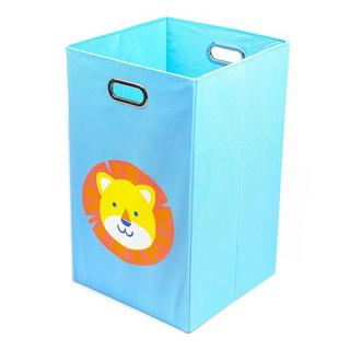 Nuby Lion Folding Laundry Bin in Light Blue