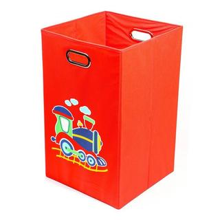 Nuby Train Folding Laundry Bin in Red
