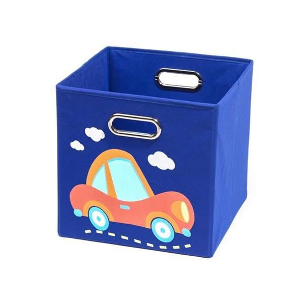 Nuby Dark Blue Car Folding Storage Bin