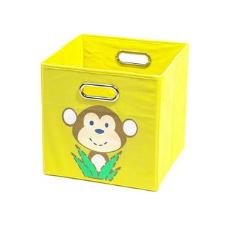 Nuby Yellow Monkey Folding Storage Bin