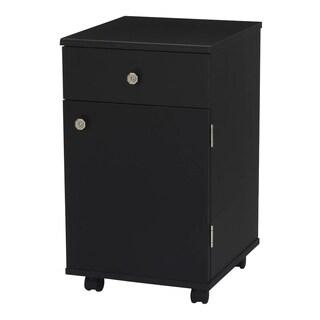 Suzi Black Sewing Machine Accessory Storage Cabinet