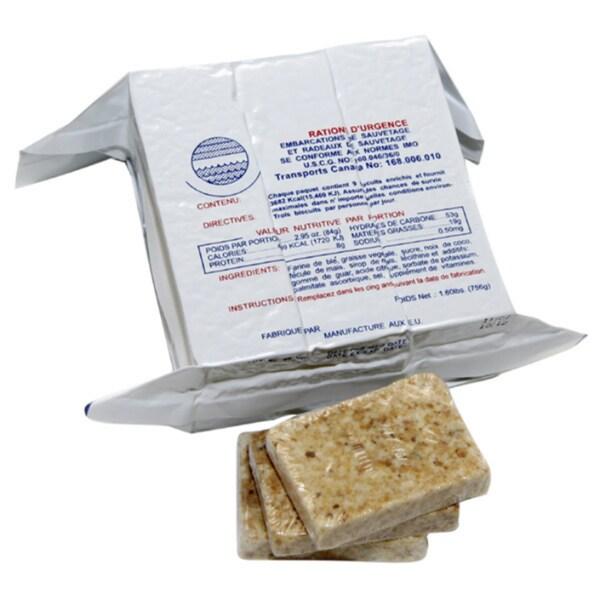 Shortbread Cookie 400-calorie Food Bar (Set of 5)