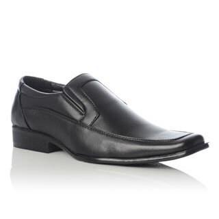 Henry Ferrera Men's Square Toe Slip-on Loafers