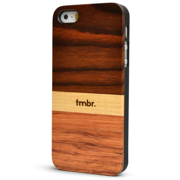 TMBR Rosewood Mix iPhone 5/5S Case