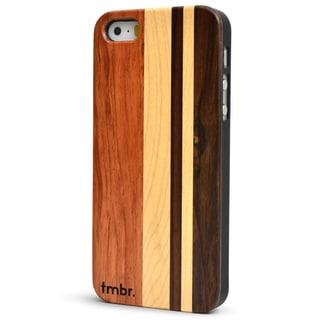 TMBR Cherry Mix Wood iPhone 5/5S Case