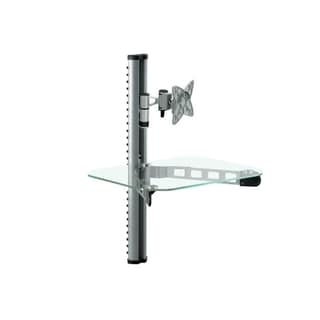 Mount-It! Articulating Wall Mount Adjustable Shelf