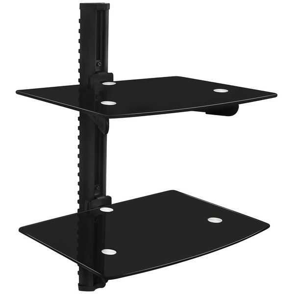 Mount-It Dual Shelf Wall Mount Bracket
