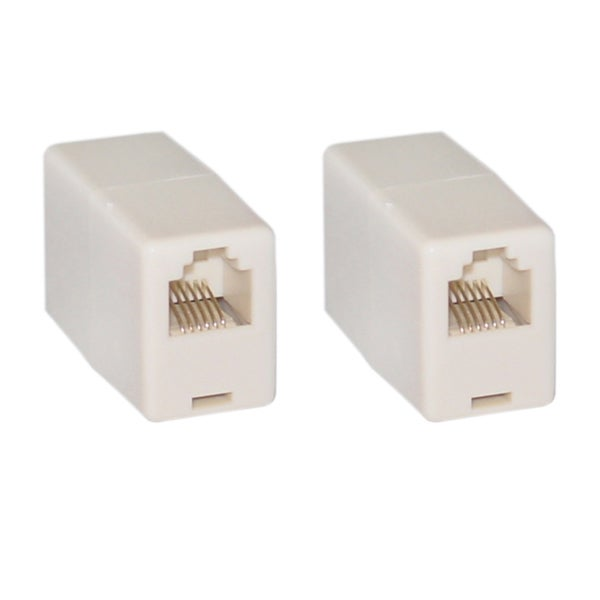 Offex Wholesale RJ11 / RJ12 6P6C Telephone Inline Coupler