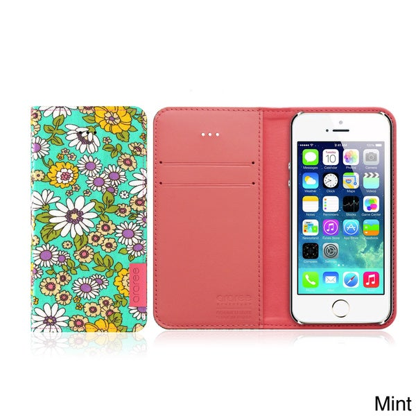 Hybrid Blossom Diary iPhone 5/5s Wallet Case