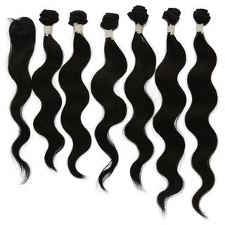 Brazilian Unprocessed Virgin Remy 7-piece Hair Body Wave