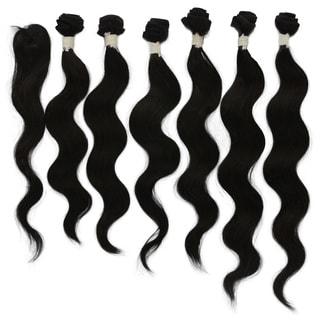 Brazilian Unprocessed Virgin 7-piece Body Wave Remy Hair
