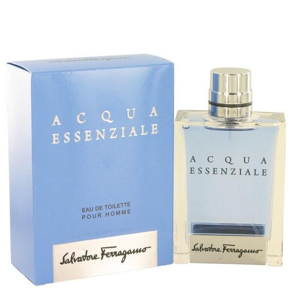 Salvatore Ferragamo Acqua Essenziale Men's 3.4-ounce Eau de Toilette Spray