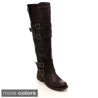 Nature Breeze Vivienne-05 Women's Knee-High Riding Boots