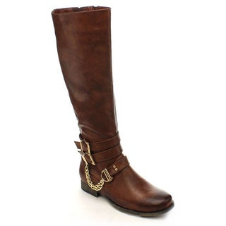 Nature Breeze Prima-12HI Women's Knee High Riding Boots