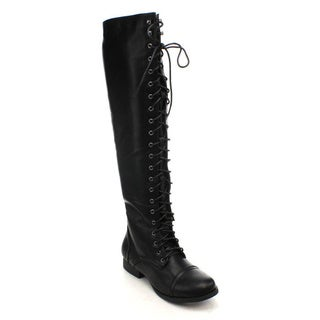 Nature Breeze Prima-08HI Women's Over The Knee Boots