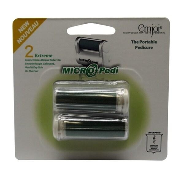 Emjoi Micro-pedi Extreme Coarse Micro Mineral Rollers (Pack of 2)