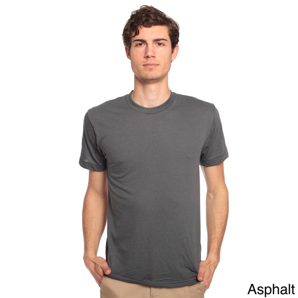 American Apparel Unisex Poly Cotton Crew Neck T Shirt