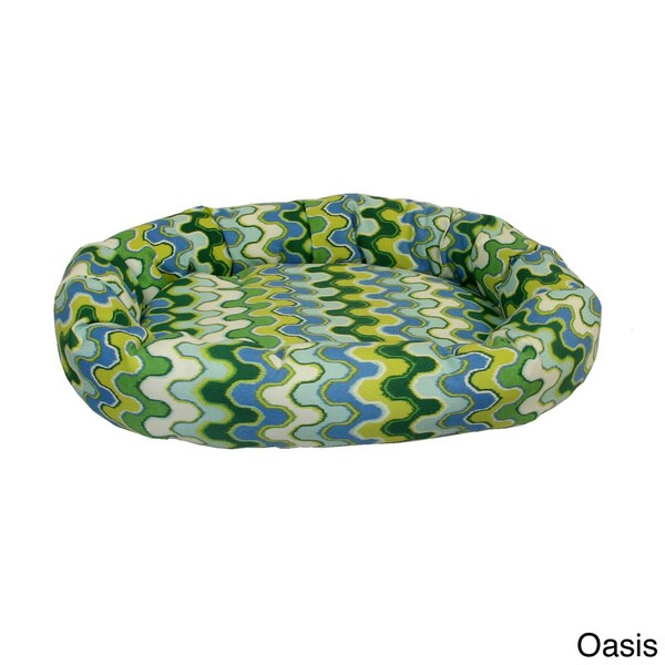 Nivala Circular Pet Bolster Bed