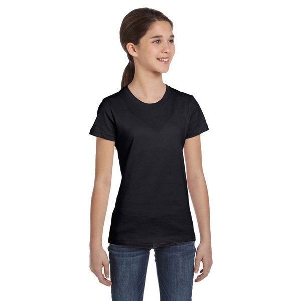 Girls Jersey Cotton Short Sleeve T-shirt