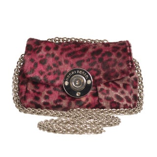 Henri Bendel Mini Animal Print Crossbody Purse