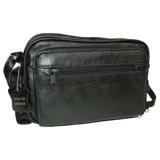 Hollywood Tag Lambskin Leather Side Bag