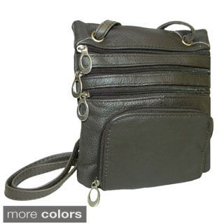 Hollywood Tag Leather Travel Pouch