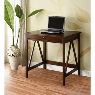 Oh! Home Tiziano Laptop Desk Aged Cherry