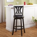 Anderson 29-inch Black Swivel Stool