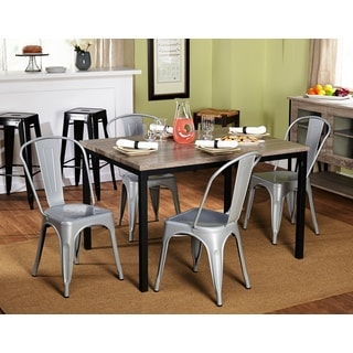 Barletta Modern Grey/ Black 5-piece Dining Set