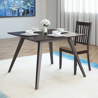 CorLiving Atwood 42-inch Wide Cappuccino Stained Dining Table