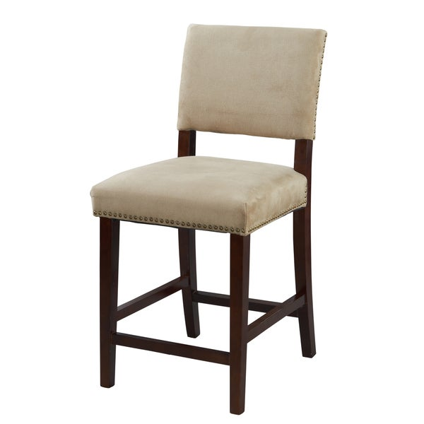 Linon Corey Counter Stool Overstock Shopping Great