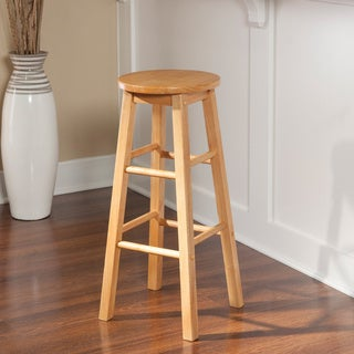 Oh! Home Basic Stationary Backless Bar Height Stool