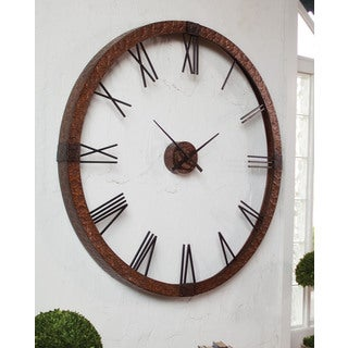 Amarion Large Metal Wall Clock